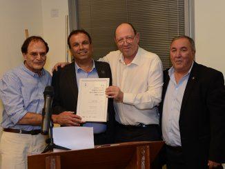 """מנכ""""ל עיריית אילת קיבל פרס ליזמות עירונית"""