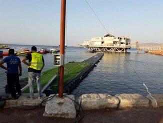 פונו שני מבנים לא חוקיים באזור התיירות של אילת