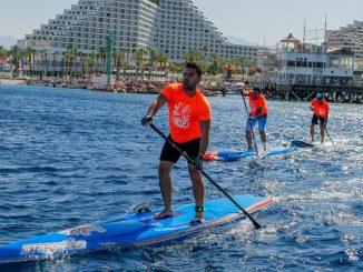 לראשונה ארחה העיר אילת את אליפות ישראל בסאפ
